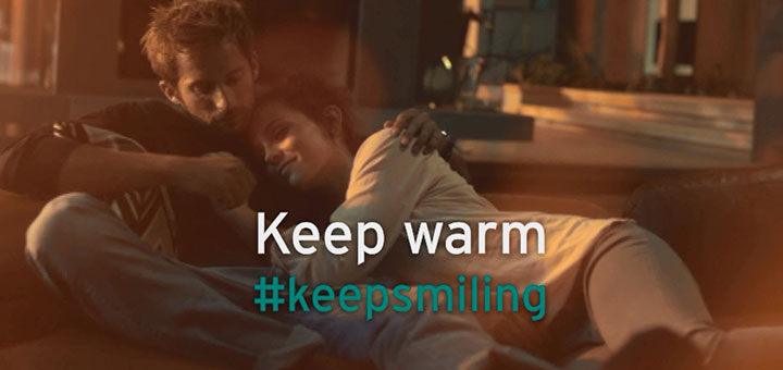 Keep Smiling campaign image