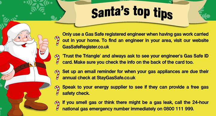 Santa's top tips