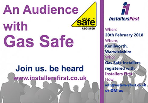 Audience with Gas Safe image