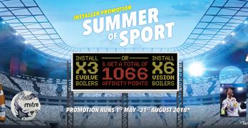 Vokera Summer of Sport promotion image