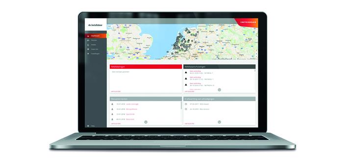 Intergas service dashboard image