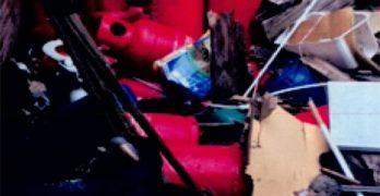 Dangerous LPG canisters image