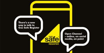 An illustration of Gas Safe Register's Open Channel offering