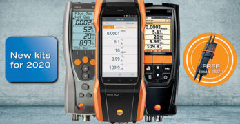 An image of Testo gas analysers