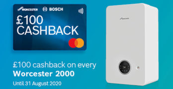 Worcester Cashback offer image