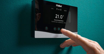 An image of a Vaillant thermostat