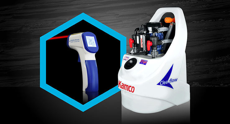 Kamco image of the Clearflow powerflush equipment