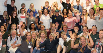 The audience at the Women Installers Together conference
