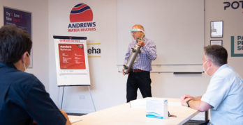 Andrews Water Heaters training image