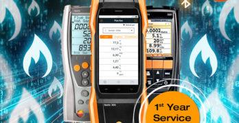 Testo 1st year service image