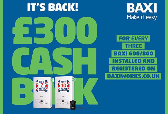 Baxi Cashback advert