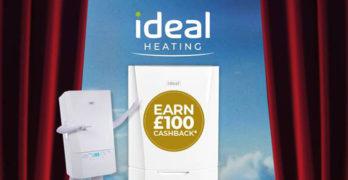 Ideal Heating £100 cashback image