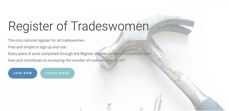National Register of Tradeswomen image