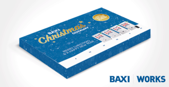 Advent calendar image from Baxi Works