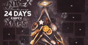 Advent calendar featuring tools