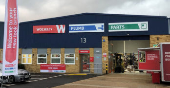 Wolseley Plumb and Parts branch in West Drayton