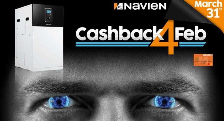 Navien cash back offer graphic