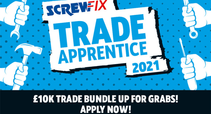 Screwfix Trade Apprentice of the Year 2021 graphic