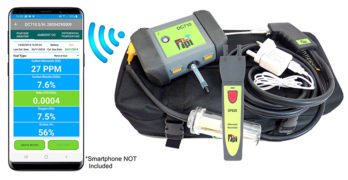 Image of TPI DC710C2 flue gas analyser kit